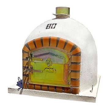 Small Outdoor Pizza Oven 80 cm - www.EN-barbecue.com - BragaOvens
