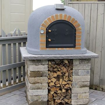 Outdoor pizza oven FUMUS pizza oven - www.EN-barbecue.com - BragaOvens