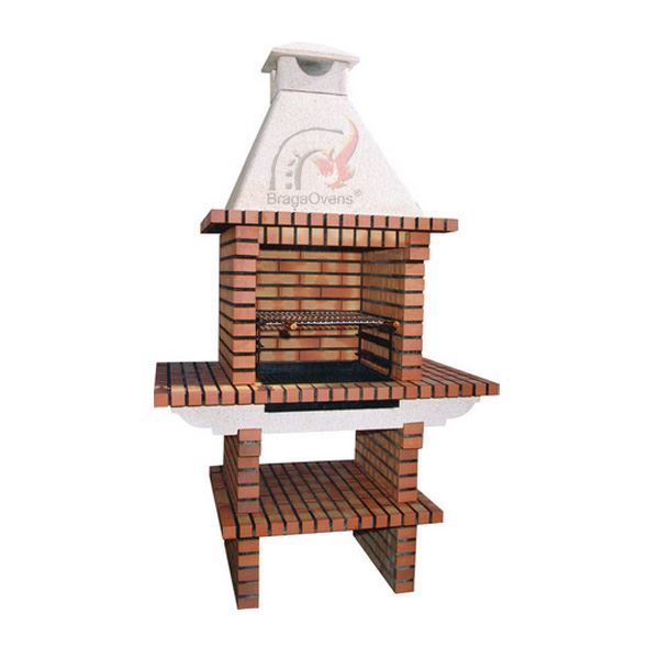 Diy Brick Bbq With Chimney 113 Outdoor Pizza Ovens And