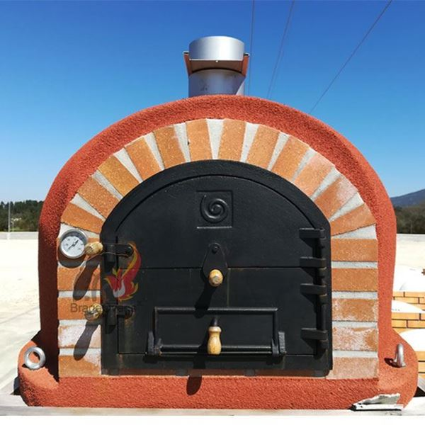 Outdoor pizza oven REAL - www.EN-barbecue.com - BragaOvens