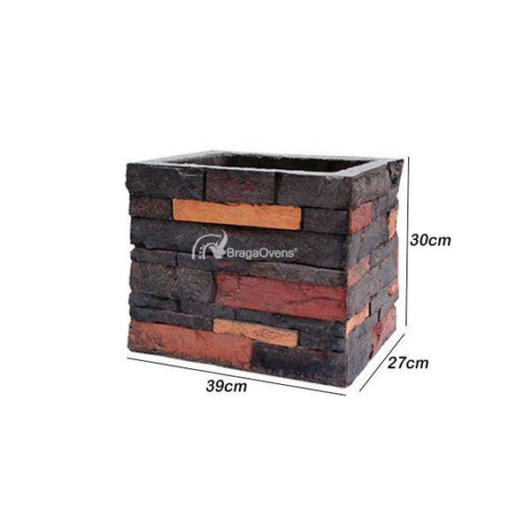 Chimney extensions 30 cm for Stone BBQ series