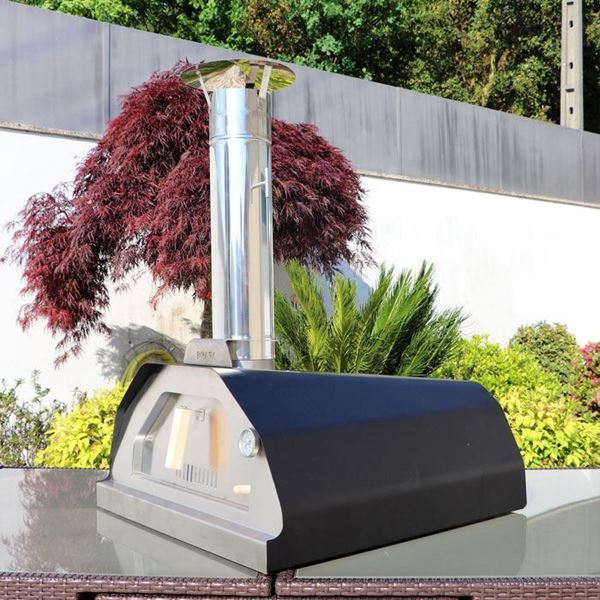 Black Brasa - Classico wood fired outdoor pizza oven