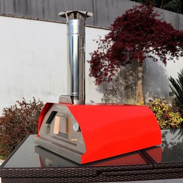 Red Brasa - classico wood fired outdoor pizza oven