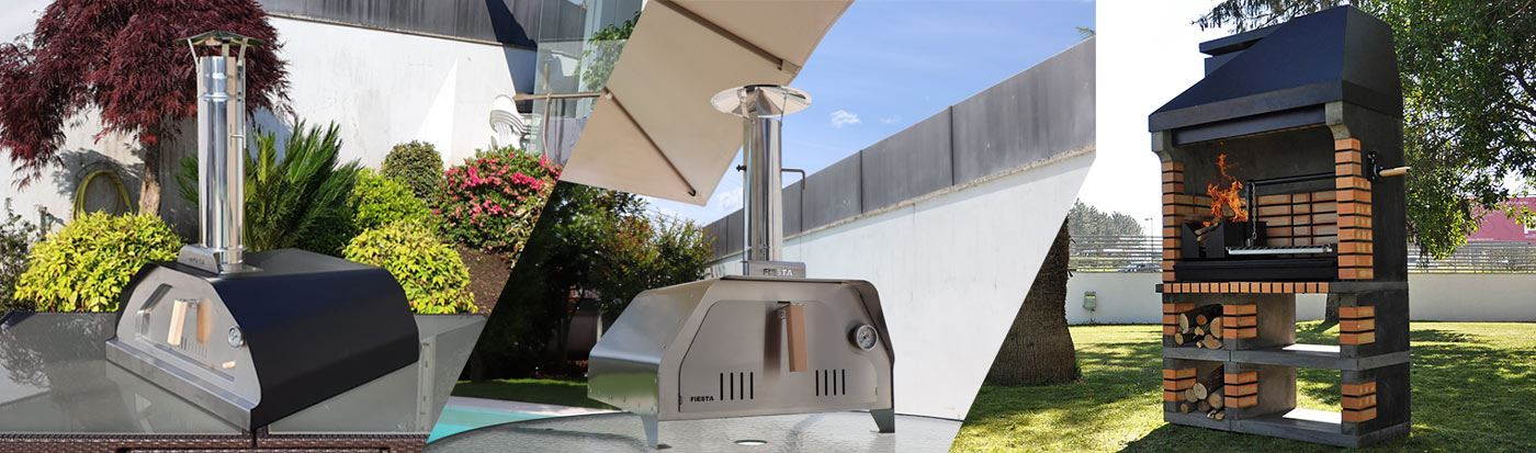 outdoor pizza ovens and barbecues